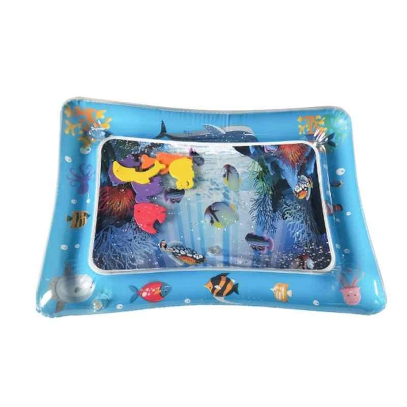 2019 горячая Распродажа, детский коврик для игры в воду, надувной детский коврик для игр с животиком для малышей, забавная подвижная игра, центр, Прямая поставка