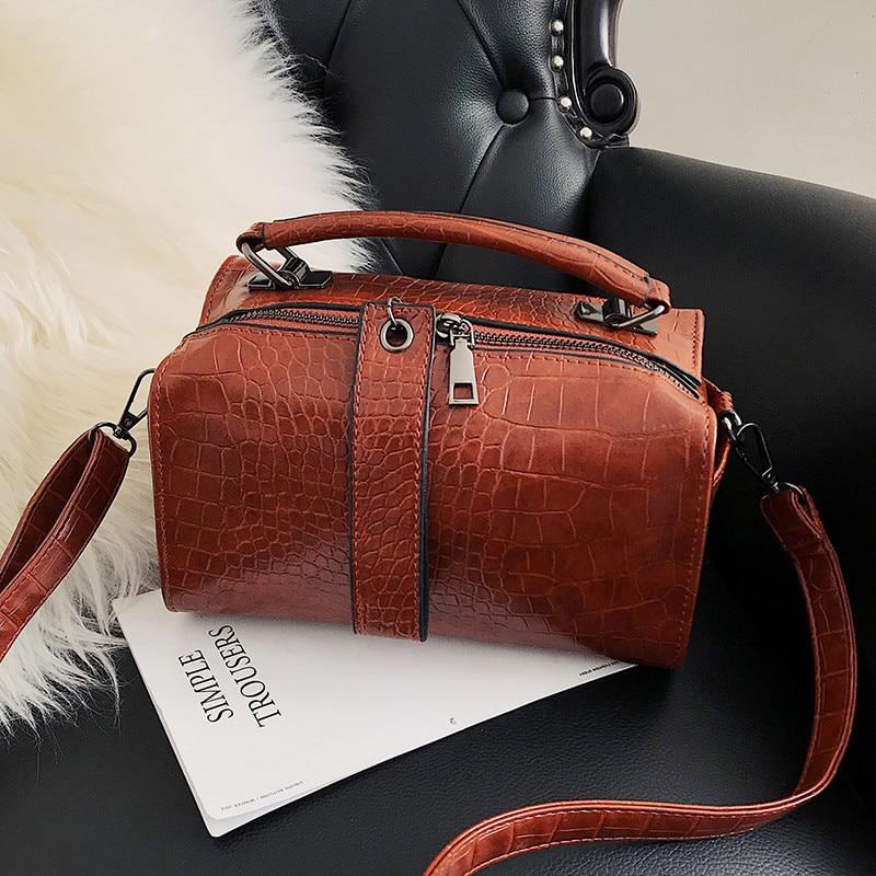 63126787bf27 MENGXILU женские сумки на плечо элегантные женские Сумки из искусственной  кожи женские роскошные сумки женские сумки