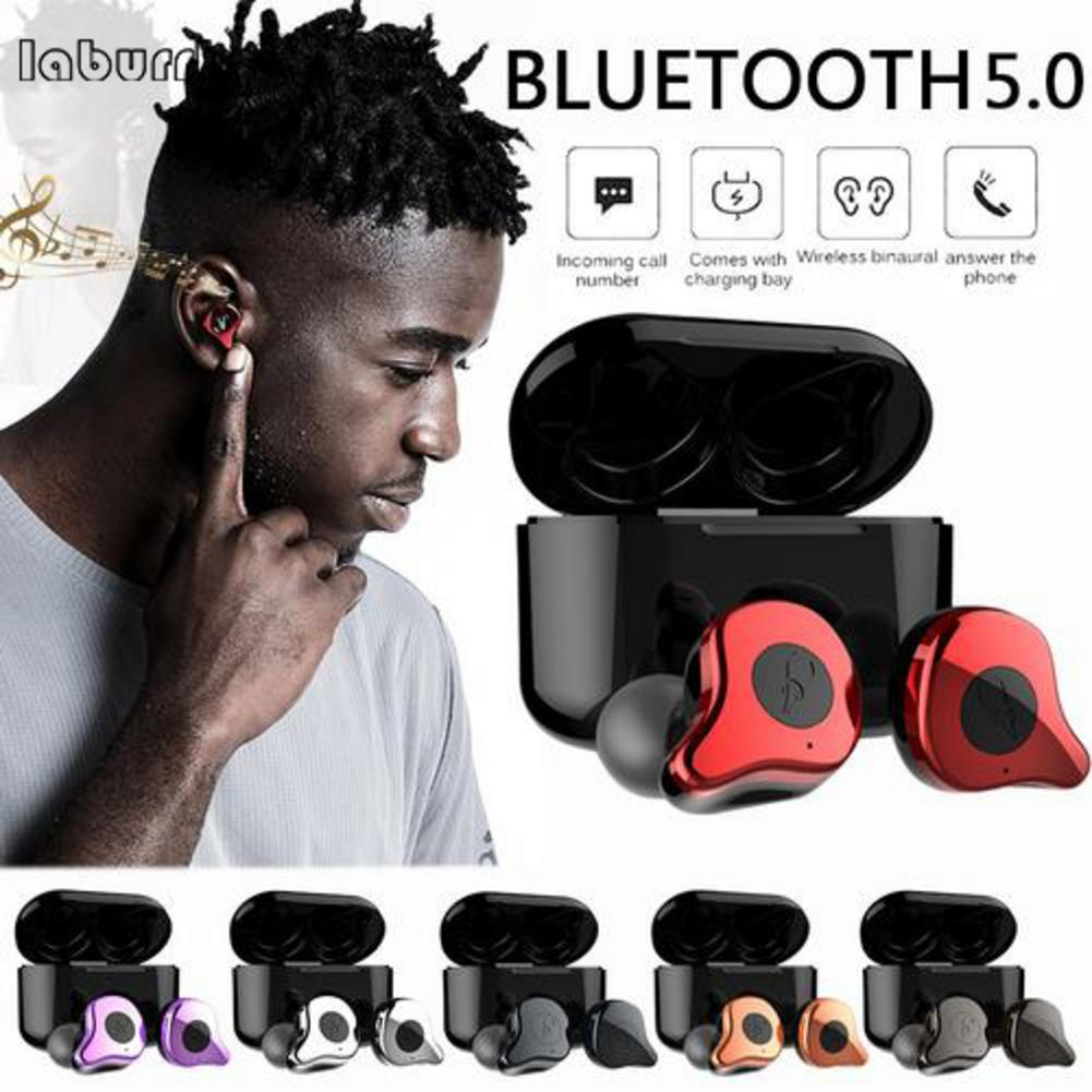 Newest E12 TWS Bluetooth Earphone 5.0 Wireless Headset HiFi Sports Earbuds Headphone Microphone With Fast Charging CaseNewest E12 TWS Bluetooth Earphone 5.0 Wireless Headset HiFi Sports Earbuds Headphone Microphone With Fast Charging Case