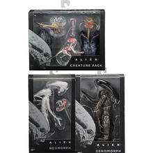 2018 anime figura filme Aliança jogo NECA Alienígena Xenomorph Neomorph Criatura Pack PVC Action Figure Collectible Modelo Toy(China)