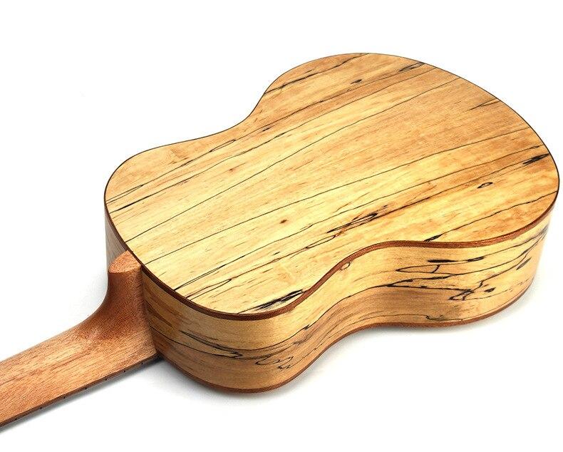 Ukulélé 23 pouces acoustique électrique Concert ténor Deadwood Mini guitare 4 cordes Ukelele Guitarra Uke Pick Up - 6