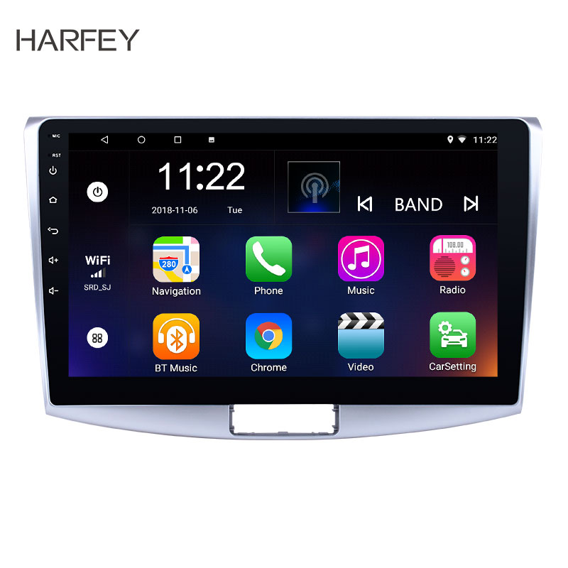 Harfey Android Car Stereo Screen Radio For2012 2014 VW Volkswagen Magotan B7 Bora Golf 6 Car Multimedia player GPS Navigation