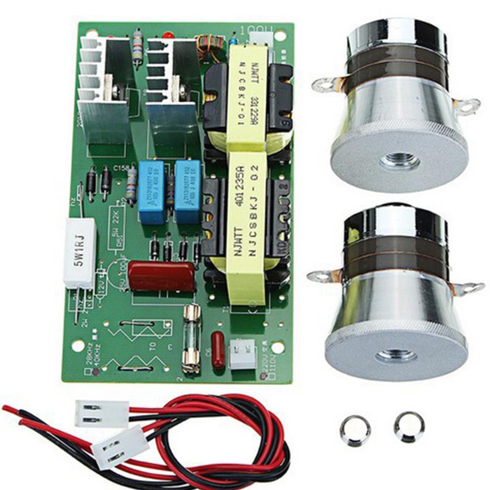 220 V/50 W/40 KHZ Ultrasone Generator Voeding Module Ultrasone Generator Power Board Transducer Vibrator-in Onderdelen voor ultrasone reiniger van Huishoudelijk Apparatuur op  Groep 1