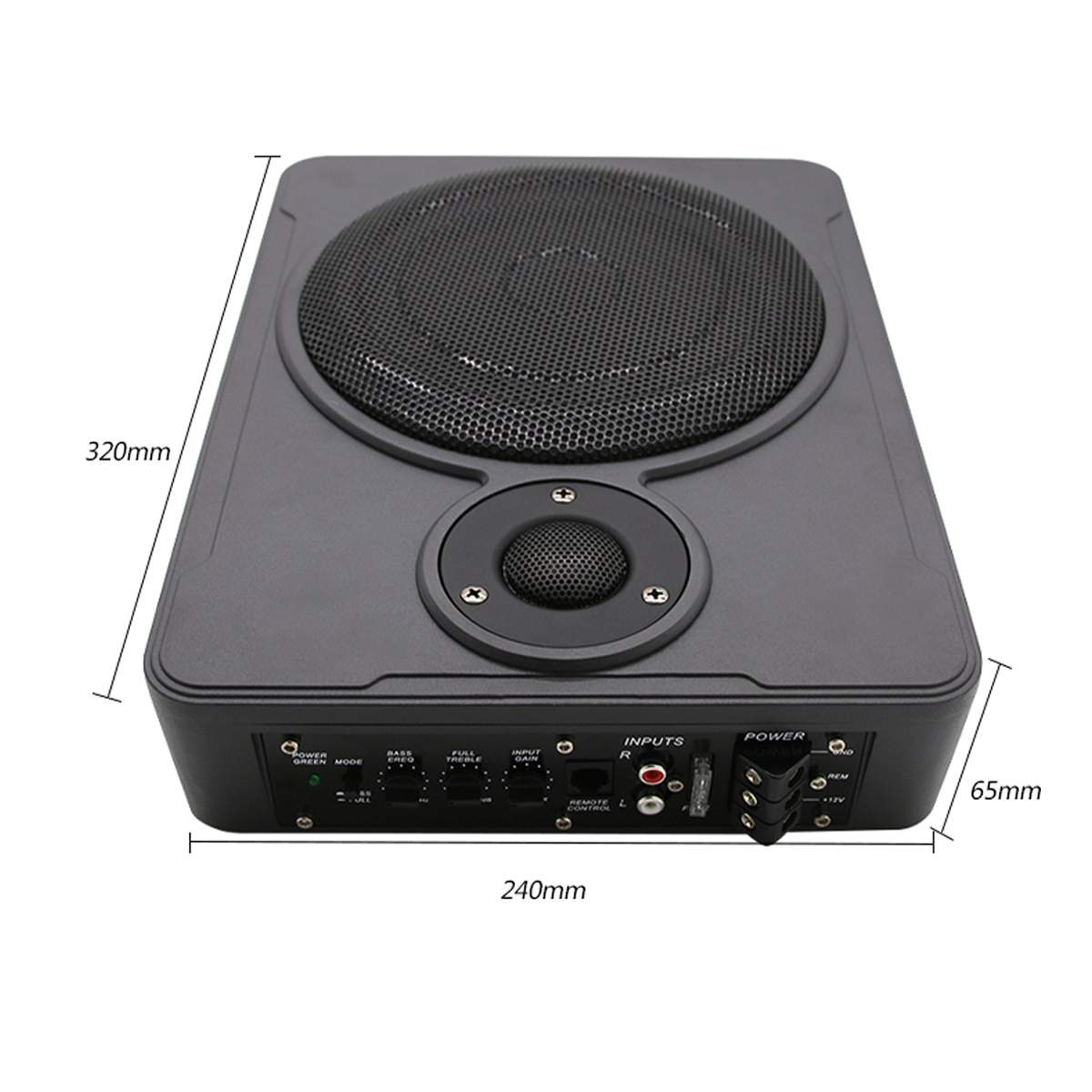 Новый универсальный 8 дюймов 600 Вт bluetooth Автомобильный ультра-тонкий аудио активный сабвуфер авто под сиденьем Sub автомобильный усилитель зв...