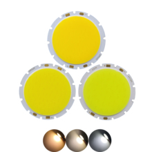 ALLCOB factory 49mm 42mm round LED COB Light Source Module warm nature white 15W 20W 30W lamp flip chips for downlight