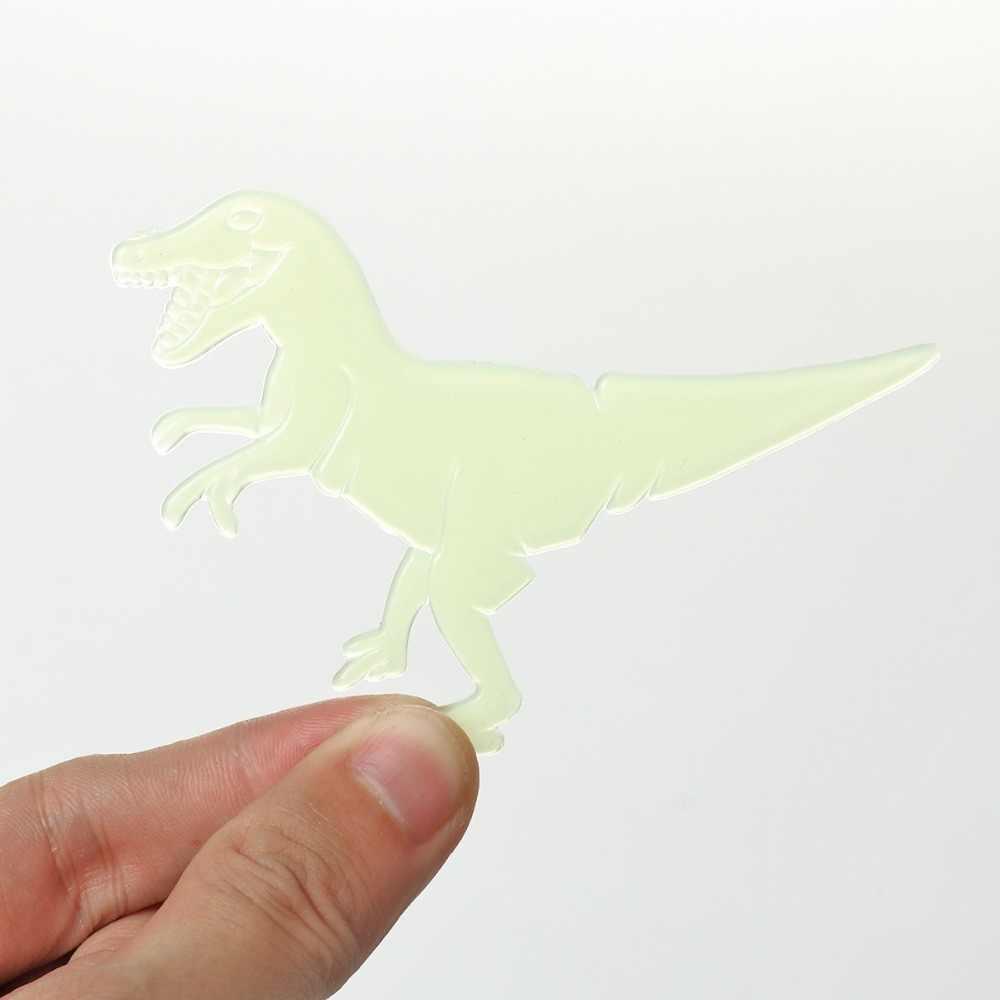 9 шт./компл. 3D Динозавр светящийся в темноте патч пластмассовая головоломка обучающая настольная игра для детей игрушки девочки мальчики подарок 1 шт Размер 9 см