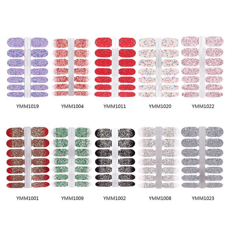 Manicure Plastic Water Transfer Sticker DIY Multi-function Long-lasting Flash Gradient Pregnant Woman Nail Sticker Tool Kit