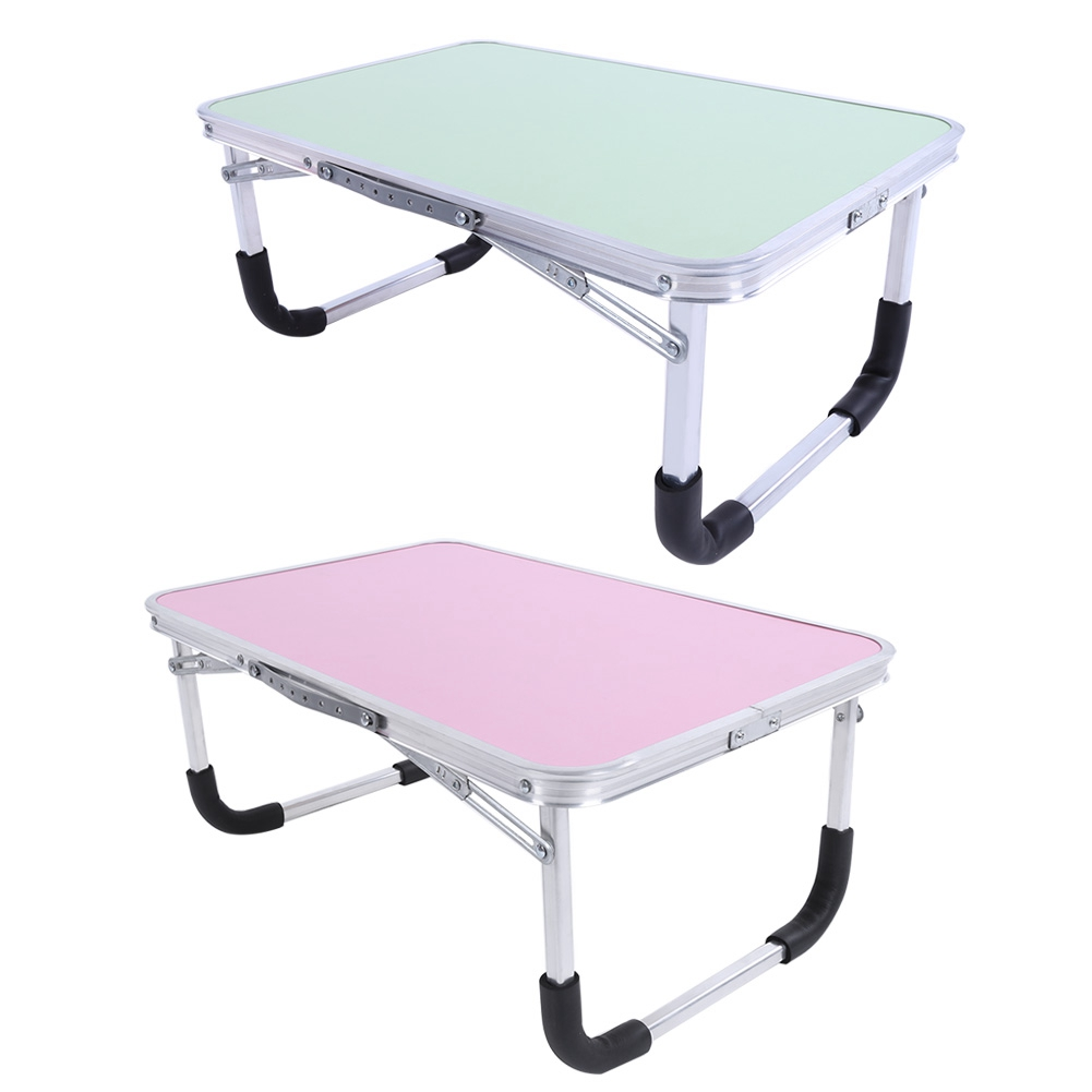 Foldable Laptop Bed-Desk Table-Stand 61--41--29cm Multi-Functional Aluminum-Alloy