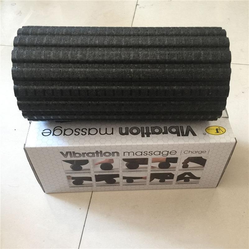 MUMIAN Yoga Fitness colonne électrique Vibration rouleau de Massage mousse Pilates bloc réglable masseur soulager la Fatigue musculaire - 6