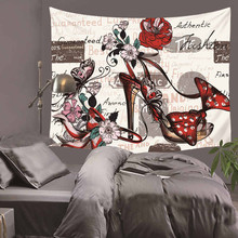 2019 Beautiful Creative Psychedelic Butterfly Printed Decorative Mandala Tapestry Boho Wall Carpet Hippie Wall Hanging HA24