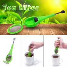 opening promotion-Healthy flavor silicone tea strainer mixer measurement Tea coffee filter tea maker opening promotion creative silicone tea bag tea pot shape tea filter safely cleaning infuser tea tool