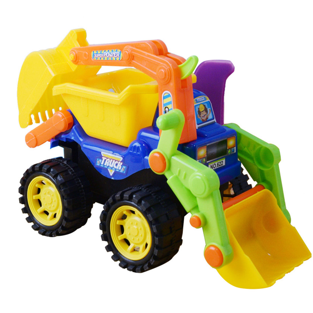 Kids Children Simulation Vehicles Excavator Car Boys Toy  Summer Toys For Beach Sand Baby Outdoor Toys Birthday Gift 2019
