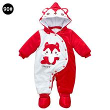 IMSHIE cartoon fox animal winter new born baby clothes