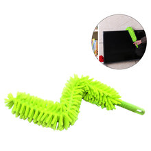 Chenille Microfiber Duster Easy Grip Bendable Head for Ceiling Fans Blinds Furniture Shutters Cars(China)