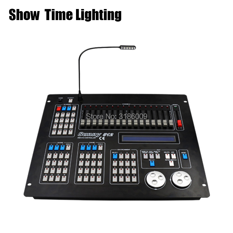 SHOW TIME New Sunny 512 DMX Controller Stage Light DMX Master Console For XLR-3 Led Par Beam Moving Head