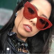 Retro Sunglasses Women Luxury Cat Brand Design Oversize Big Frame Fashion Lady Eye Sun Glasses Shade for Women 2019 Quality oversized sunglasses women 2019 luxury brand cat design eye sun glasses goggles big frame fashion amber rose sunglasses quality