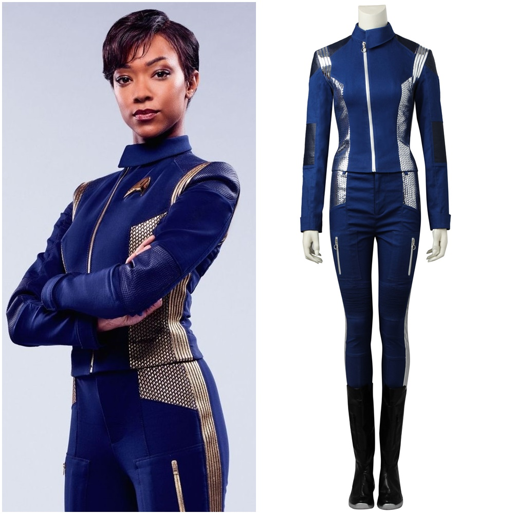 Star Trek Discovery Michael Burnham Cosplay Costume Custom Made