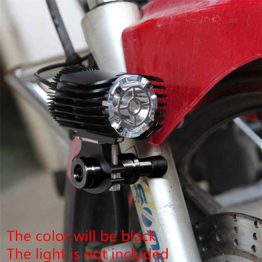 2PC M8 M6 Bolt CNC Motorcycle Head LED Light Bracket Mounting Post Bar Clamp For Electric Vehicle Front Turn Light Code