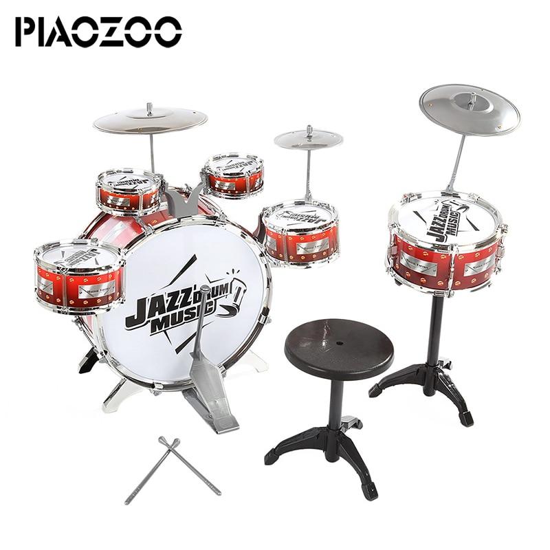 Professionnel instruments de musique tambours pour enfants junior tambour percussion ensembles main exerciseur tambour machine Pour KTV Parti P20