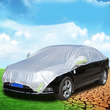 Car Covers Waterproof SUV Auto Sun Proof Shade Reflective Strip Outdoor Dust Rain Protection Universal Summer On Car Accessories buildreamen2 all weather car cover waterproof suv sun shade rain hail snow scratch dust protection covers for tesla model x