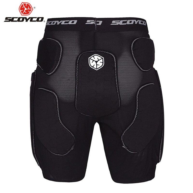 SCOYCO Moto equitation MX Motocross short pantalon descente Protection Moto Cross homme pantalon Moto vetement vtt DH Body Armor
