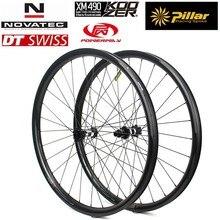 ELITEWHEELS 29er MTBคาร์บอนล้อ28/32H 28*24มม.Super Lightเพียง310G Carbon Rim cross Country/All Mountainจักรยานขี่จักรยาน
