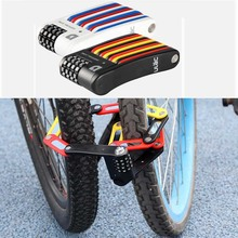 ULAC Foldable Bicycle Motorcycle Lock Mini Portable Professional Anti-theft Alloy Strong Zinc steel alloy Top Quality цена