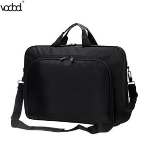 Image 3 - VODOOL Laptop Bag Computer Bag Business Portable Nylon Computer Handbags Zipper Shoulder Laptop Shoulder Handbag High Quality