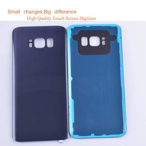 Image 2 - 10Pcs/lot For Samsung Galaxy S8 G950 G950F SM G950F Housing Battery Cover Back Cover Case Rear Door Chassis Shell S8 Housing