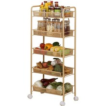 Organization Almacenamiento Cocina Mensola Etagere De Rangement Repisas With Wheels Kitchen Storage Organizer Prateleira Rack