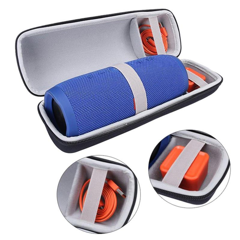 BEESCLOVER EVA Portable Hard Carrying Case Cover Storage Bag For JBL Charge 3 Wireless Bluetooth Speaker Waterproof Bag R25
