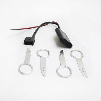 Biurlink autoradio 6000CD Bluetooth Module AUX-IN câble adaptateur Audio sans fil pour Ford Focus Mondeo 6000 CD