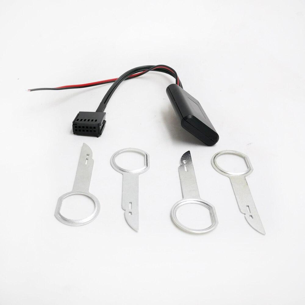 Biurlink rádio do carro 6000cd módulo bluetooth AUX-IN cabo adaptador de áudio sem fio para ford focus mondeo 6000 cd