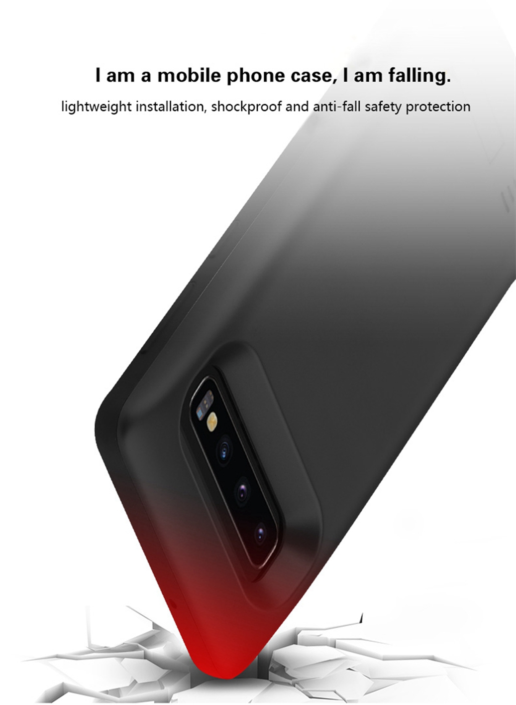 For Samsung Galaxy S10e Charger Case 5000mAh Slim Power Bank Rechargeable Case For Samsung S10E Battery Case Stand Bracket in Battery Charger Cases from Cellphones Telecommunications