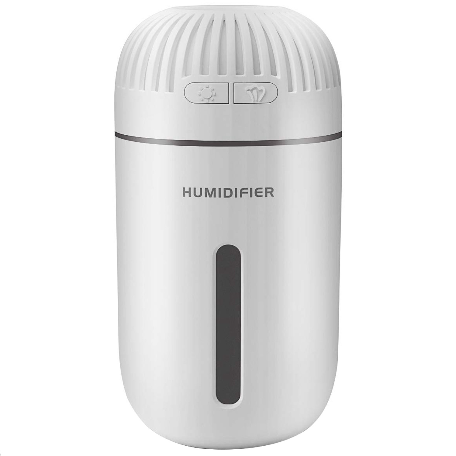 Mini Humidifier Small Humidifier For Bedroom Baby With 350Ml Water Tank  Whisper Quiet Operation  Automatic Shut Off And 7 Col|Humidifiers| |  - title=