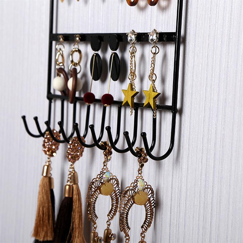 Earring Necklace Holder Birdcage Wall Mount Jewelry ...