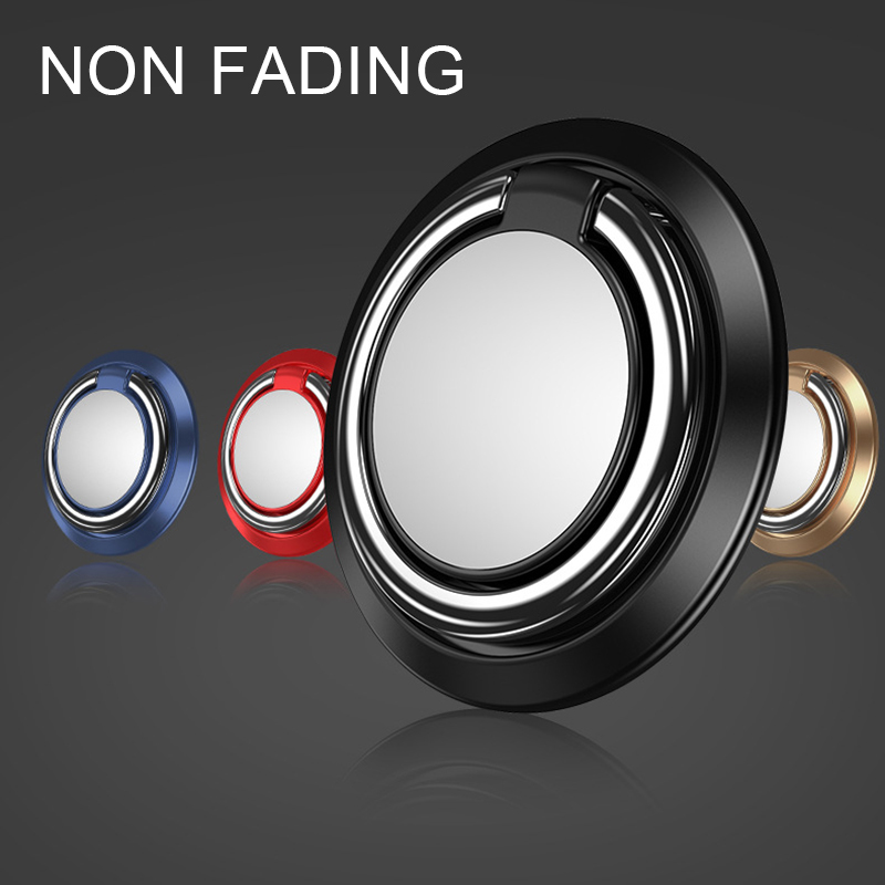 Finger Ring Holder Magnetic Ring Phone Grip 360Degrees Rotating Stand Universal Metal Phone Stand Soporte Magnetico Movil Suport