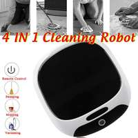 4in1 Sweeping Robot Auto Cleaner Vacuum Cleaner Home Carpet Floor Living Room 360 Degree Rotation Strong Suction Mopping Colors
