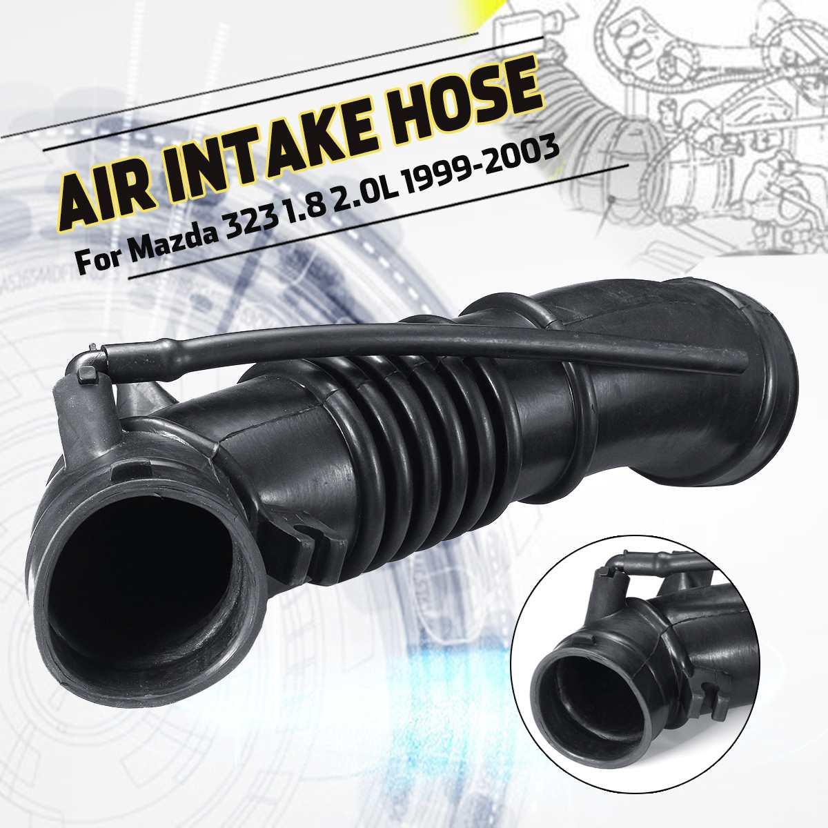 車の吸気マニホールドホースチューブパイプ FP47-13-220A マツダプレマシー 323 1.8 2.0L 1999-2003 アスティ BJ のためフォードレーザー KN KQ