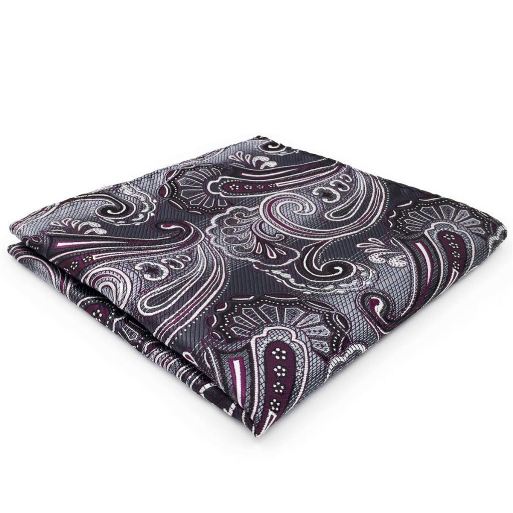 CH03 Mens Pocket Square Multicolor Groom Hanky Jacquard Woven Silk Brand New Fashion Classic Handkerchief