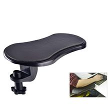 Rotating Computer Arm Rest Pad, Ergonomic Adjustable PC Wrist Rest Extender, Desk Attachable Home Office Mouse Pad Health Care
