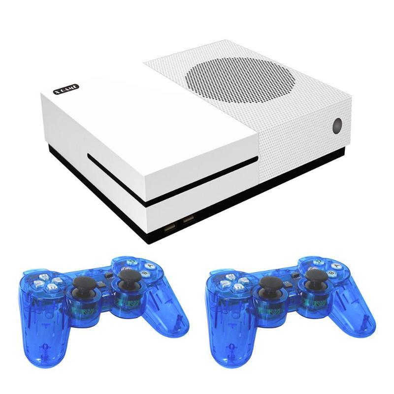 Sortie HDMI 64 bits X Console de jeu double coeur Console de jeu vidéo Palyer intégré 600 jeux classiques pour Format GBA/SMD/NES/FC