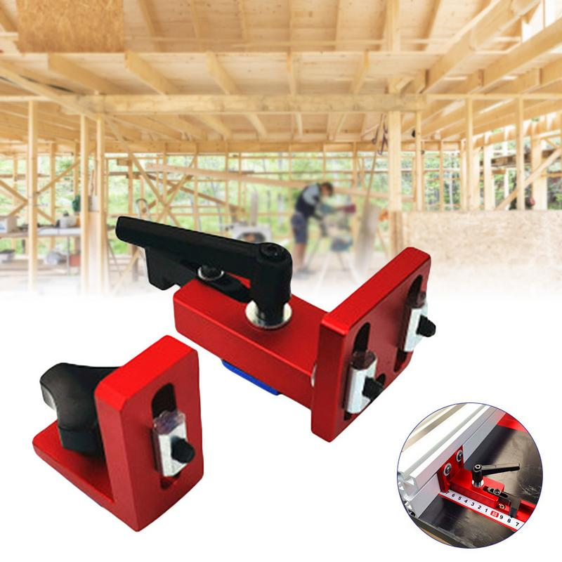 35/45 T-Slot Miter Track Stop Sliding Miter Gauge Fence Connector Rail Retainer Chute Locator For Milling Woodwork35/45 T-Slot Miter Track Stop Sliding Miter Gauge Fence Connector Rail Retainer Chute Locator For Milling Woodwork