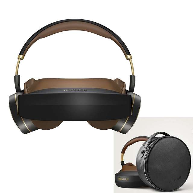 24a025b7d0d Professional All In One 3D VR Helmet Glasses With HIFI Headphones 3D VR  Headset Virtual Reality