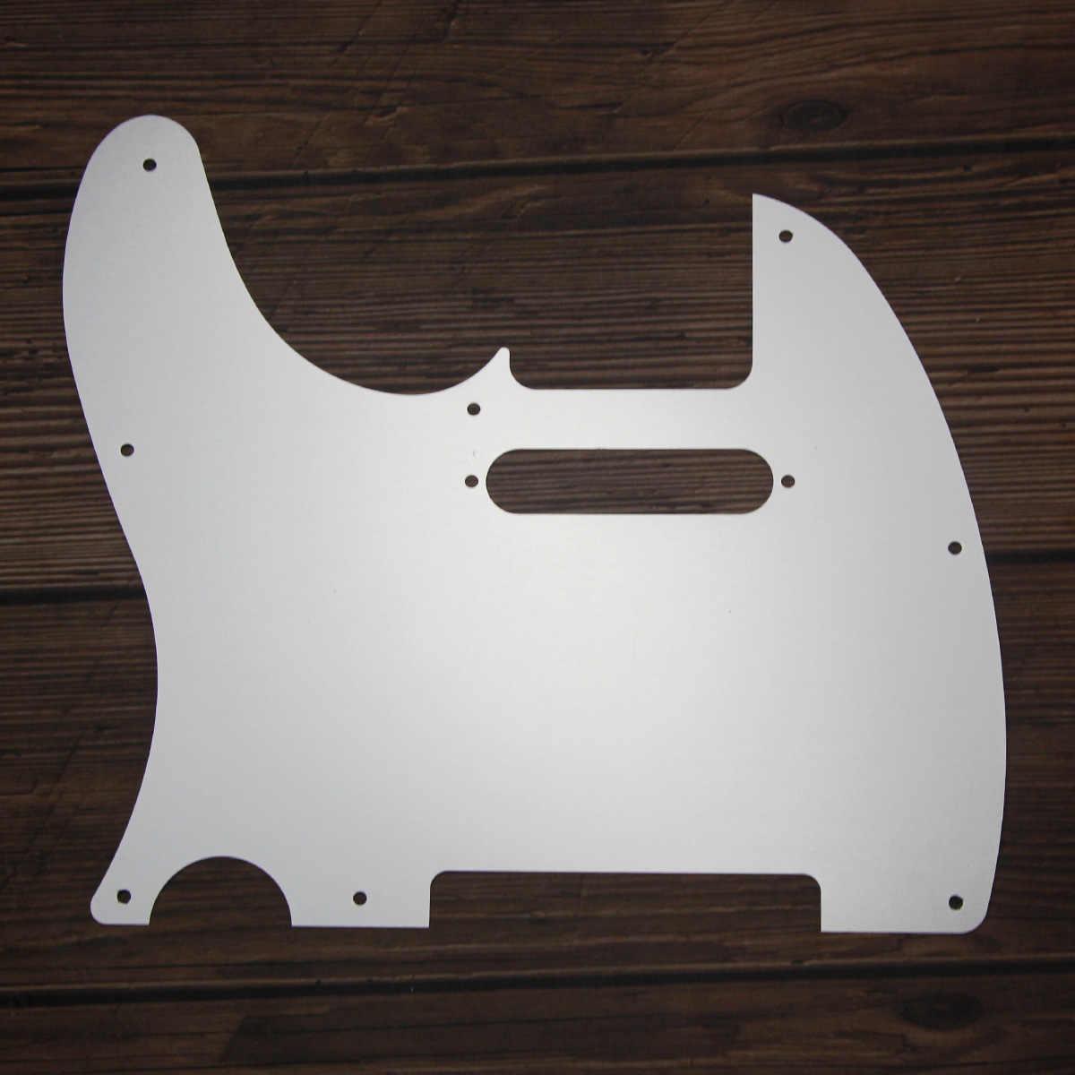 FLEOR Silber Aluminium Metall Schlagbrett USA Mexikanischen Moderne Standard Gitarre Pick Guard Scratch Platte für Tele Gitarre Teile