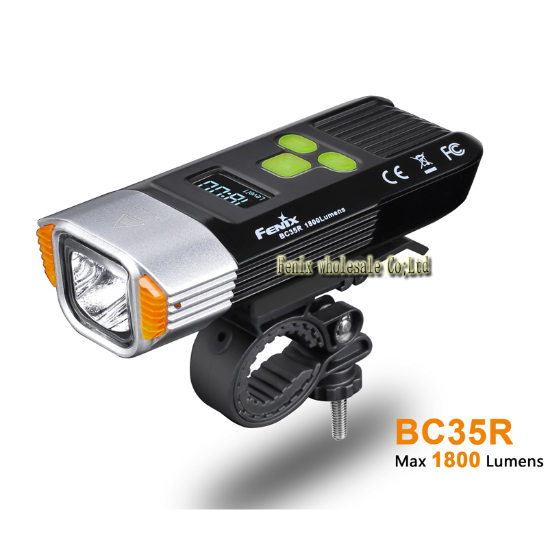 New Arrival 2018 Fenix BC35R 1800 Lumens Cree XHP50 Neutral White LED All round USB Rechargeable