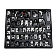 Professional 48pcs Sewing Machine Presser Feet Set for Brother, Babylock, Singer, Janome, Elna, Toyota, New Home, Simplicity,
