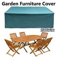 Outdoor Garden Furniture Rain Cover Waterproof Oxford Sofa Chair Table Protector Cover Garden Patio Rain Snow Dustproof Covers