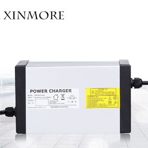 Image 5 - XINMORE 84V 10A 9A 8A ליתיום סוללה מטען עבור 72V e אופני ליתיום סוללות AC DC כוח אספקת חשמלי כלי