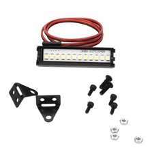 RC LED Licht 55mm RC Crawler LED Licht Bar LEDs Lamp 1:10 RC Auto Deel voor TRX4 90046 90048 SCX10 RC Model Auto Deel Acces(China)